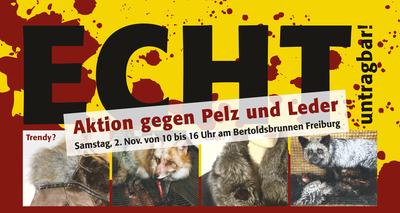 Mahnwache Pelz 2013